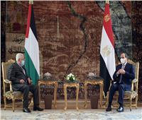 محمود عباس يشيد بدور مصر في دعم حقوق الشعب الفلسطيني