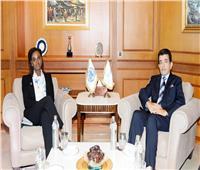 مدير«الإيسيسكو» يلتقي المنسقة المقيمة للأمم المتحدة بالمغرب