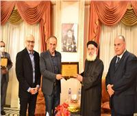 افتتاح معرض الكتاب بالكاتدرائية المرقسية بالإسكندرية