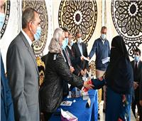 وزارتا الزراعة والتضامن توزعان 620 مشروع دجاج بياض للأسر بكفر الشيخ