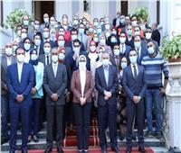 وزيرة الصحة تكرم العاملين بقطاع الطب العلاجي لجهودهم في مواجهة كورونا