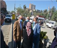 محافظ القليوبية يتفقد تطوير وتشجير شارع فريد ندا بمدينة بنها