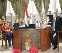 محافظ جنوب سيناء يتابع معدلات التنفيذ بعدد من المشروعات