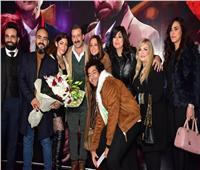 صور| حنان مطاوع وأيتن عامر وبشرى في العرض الخاص لفيلم «خان تيولا»