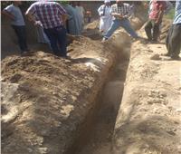 إحلال وتجديد شبكات مياه قرى مركز دار السلام بسوهاج