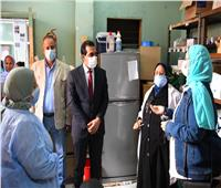 نائب محافظ قنا يوجه بتوفير الأدوية داخل الوحدات الصحية