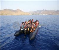 غرق زورق مهاجرين قبالة اليونان