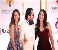 الظهور الأول لابنة أحمد حلمي ومنى زكي في افتتاح مهرجان القاهرة