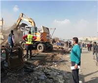 لليوم العاشر.. تواصل أعمال إزالة سوق التونسي القديم