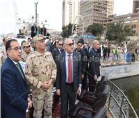 رئيس الوزراء يتفقد مشروع «ممشى أهل مصر»