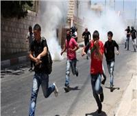 إصابة فلسطينيين بالمطاط خلال مواجهات مع الاحتلال ومستوطنيه بنابلس