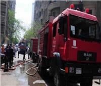 حريق هائل يلتهم شقة سكنية بالمرج