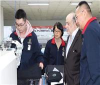 القنصل المصري بشنغهاي يزور إحدى الشركات الصينية المستثمرة في مصر