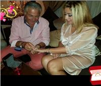 «أنت غرامي» .. رسالة عاطفية من فاتن موسى اللبنانية إلى مصطفى فهمي .. صور