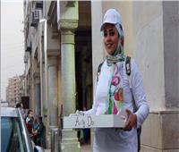 داليا بائعة «تشيز كيك» بطعم السعادة.. على «ناصية» مصر الجديدة