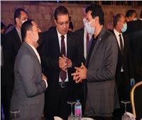 وزير الشباب يشارك باحتفال« تحيا مصر» بالرقم القياسي بموسوعة «جينيس»