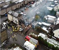 بالصور  انفجار في إنجلترا وإصابة 3 أشخاص