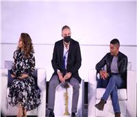 نيللي كريم وأسر ياسين يكشفان دور السينما في التوعية بمخاطر الاتجار بالبشر
