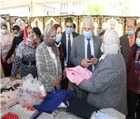 جامعة طنطا تفتتح معرضها السنوي للملابس