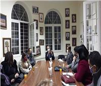 سفارة مصر في بلجراد تنظم اجتماعاً لنائبة وزير السياحة والآثار