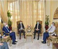 وزير الطيران لوزير النقل العراقي : القيادة السياسية تدعم العلاقات الإقتصادية بين البلدين