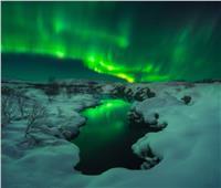فيديو| الشفق القطبي يضيء مدينة بطرسبورغ