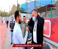 الخطيب عن ميدالية وليد سليمان: «غير راضي»