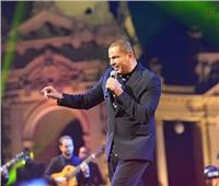 عمرو دياب يتألق في قصر عابدين ويغني «محسود» لأول مرة