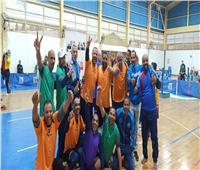 فوز فريق الإرادة والتحدي بالأقصر بالمركز الأول في بطولة كرة الطائرة