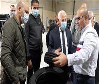 باستثمارات 3 مليارات جنيه.. محافظ بورسعيد يتفقد مصنع إنتاج إطارات السيارات
