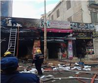 صور| السيطرة على حريق مخبز في الإسكندرية بسبب تسرب غاز