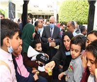 محافظ قنا يشارك في الاحتفال باليوم العالمى لذوى الاحتياجات الخاصة