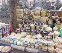 قرية «الإعلام» تصدّر منتجات «الخوص» إلى أوروبا وأمريكا