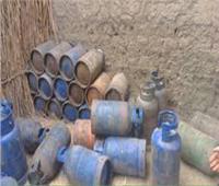 ضبط مالك مستودع بوتاجاز بالجيزة لبيعه بأزيد من السعر الرسمي
