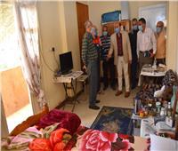 محافظ أسوان: 20 ألف جنيه دعم مالي لمؤسسة تربية البنات