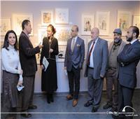 مكتبة الإسكندرية تفتتح المعرض الدائم «مختارات من فن الكاريكاتير»