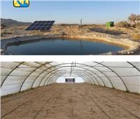 مشروع لاستخراج مياه الآبار بالطاقة الشمسية في جنوب سيناء