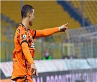 رونالدو يعتلي صدارة هدافي الدوري الإيطالي
