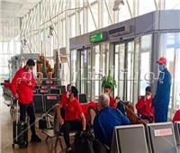 بعثة الأهلي تصل مطار القاهرة استعدادا للسفر إلى النيجر..صور