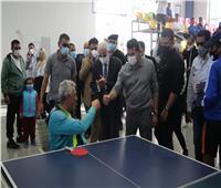 وزير الرياضة يتابع فعاليات أولمبياد المحافظات الحدودية بشرم الشيخ