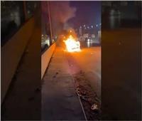 حقيقة أم مفتعلة؟.. احتراق سيارة أحمد حسن على طريقة يوتيوبر روسي   فيديو