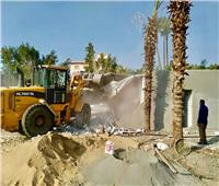 حملة مكبرة لإزالة البناء المخالف بمحافظة الجيزة