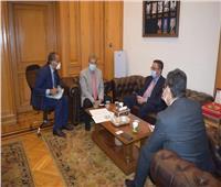 العربي يبحث مع سفير كازاخستان زيادة العلاقات الاقتصادية الثنائية