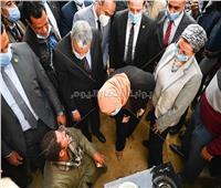 وزيرتا التضامن والبيئة ومحافظ المنيا يتفقدون وحدات مشروع البيوجاز