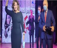 تكريم إلهام شاهين في ختام مهرجان المهن التمثيلية للمسرح