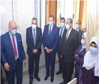 افتتاح وحدة الحالات الحرجة لطب الأطفال بمستشفي سوهاج الجامعي