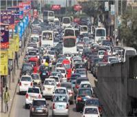 كثافات مرورية في شوارع وميادين الجيزة