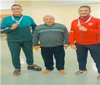 فوز جامعة الزقازيق في بطولة الشهيد الرفاعي لرفع الأثقال