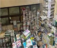 ضبط 6 آلاف كتاب مدرسي بالأزبكية