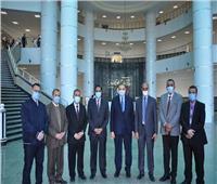 رئيس جامعة كفرالشيخ يبحث مع سفير موريتانيا التعاون المشترك